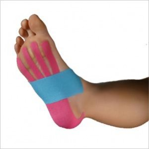 Precut Kinesio Tape Foot Support