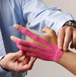 SpiderTech Tape Hand Application