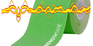 StrengthTape Kinesiology Tape with Negative Ion Technology