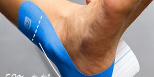 How to Tape an Ankle Sprain with StrengthTape Kinesiology Tape